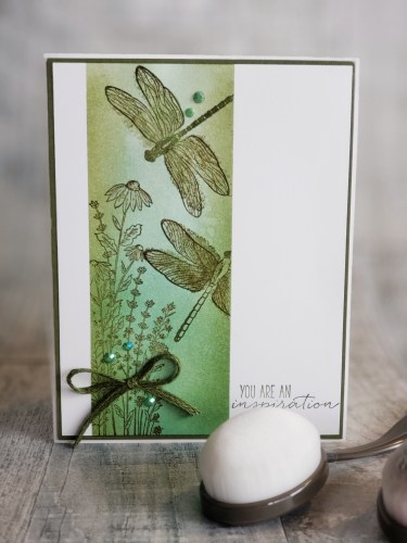 Stampin Up Blending Brushes are an amazing tool for blending ink with soft, even, and beautiful results.