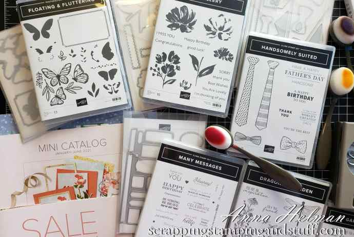 You don't want to miss my new product unboxing and sneak peeks from the 2021 Stampin Up January-June Mini Catalog!