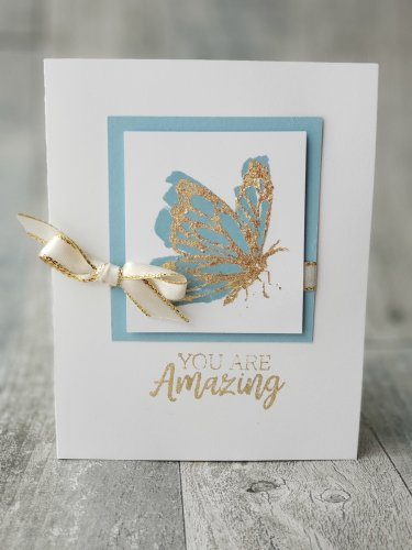 Stampin Up Gilded Leafing allows you to add gorgeous gold accents to all your projects. Learn all about it here!