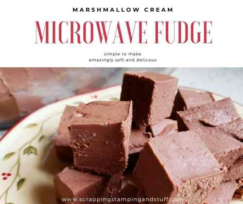 This microwave fudge with marshmallow cream is quick, easy, and the number one best tasting fudge I have EVER tasted. Try it yourself!
