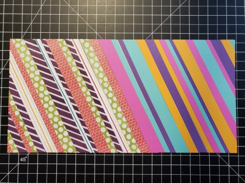 Pieced scrap cards are an amazing way to use up your paper scraps, so take a look and then make some yourself!