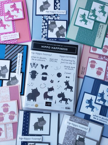 This fun card design is great for making pretty cards with any of the stamps and paper in your collection!