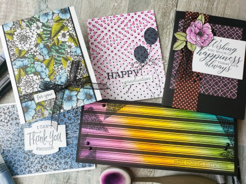 Have you ever thought to add color to your designer papers? Take a look at these 6 ways to color and customize your patterned prints!