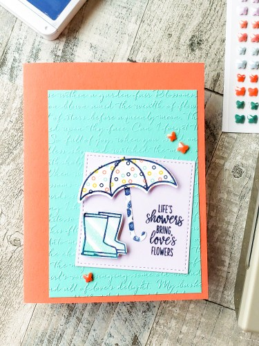 Learn to make this sweet uplifting card with Stampin Up's Under My Umbrella retiring stamp set and Umbrella Builder Punch.
