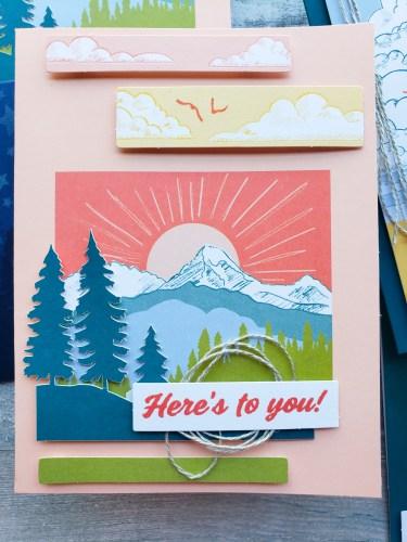 Check out the March 2021 Paper Pumpkin alternatives and ideas for this gorgeous outdoorsy kit from your favorite mailed craft kit program!