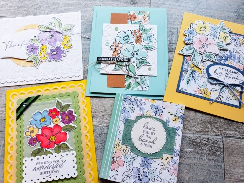 Take a look at these 52 amazing card and 3D paper project samples I received during the Stampin Up Maui Incentive Trip!