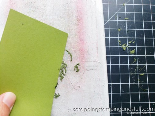 Click here to see how to clean all those pieces off your cutting plates for your die cutting machine. Don't pick them off - remove them in seconds!