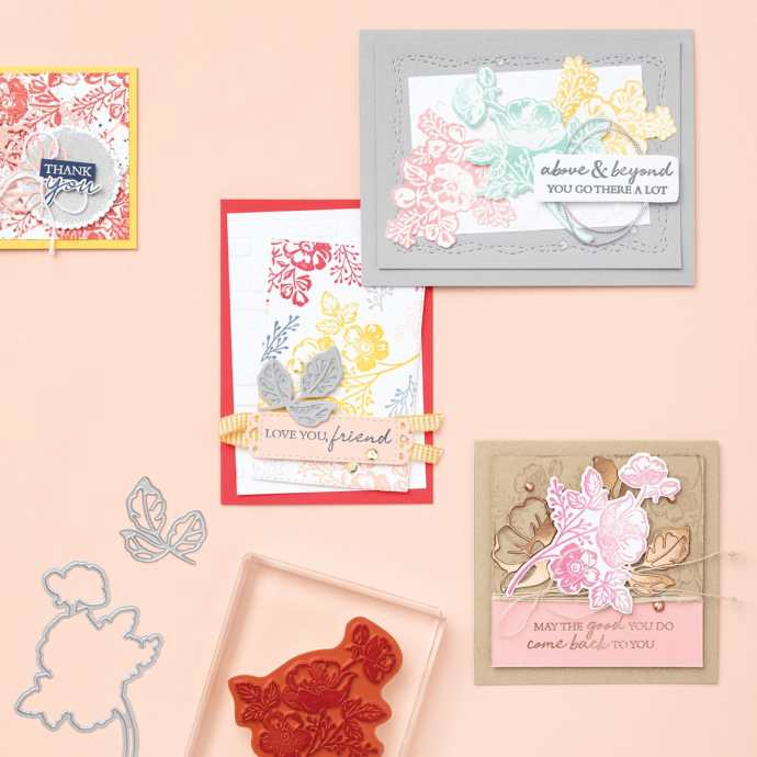 Stampin Up Sale-a-bration 2021 - For every $50 you order, choose a free gift!