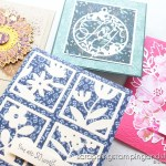 Click to learn how to paper piece with die cuts! Create gorgeous