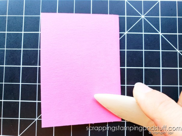 Click here for a quick tip to get your cards to lay flat every time!