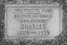 Charles Mintz Gravestone