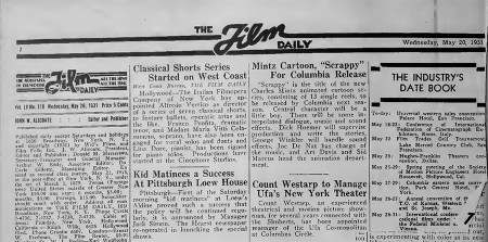 The Film Daily for May 20, 1931
