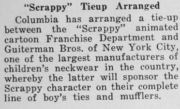Scrappy necktie story