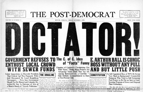Post-Democrat headline