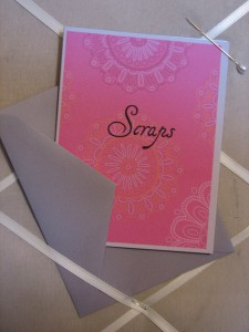 Cards with Matching Envelopes