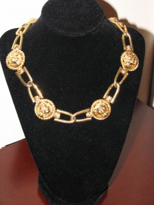 Lion Collar Necklace