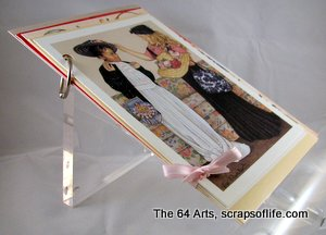 Ring and Ribbon-bound cards