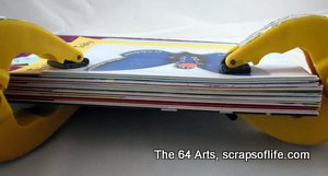 The clamped cards