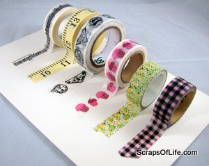 My small collection of washi tape