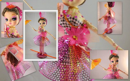 Art doll collage
