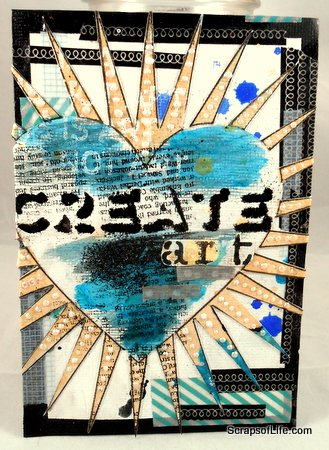 Create Art 4x6 Swap piece (side 1)