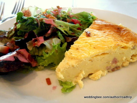 This quiche was possibly the best I've tasted. The smoked Gouda really makes a difference!