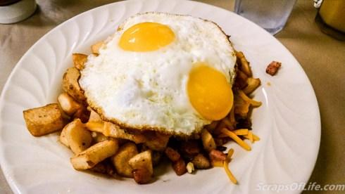 Q Cafe--Big Boy loaded potato skillet