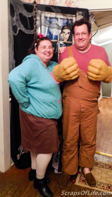Vanellope and Ralph, Halloween 2015