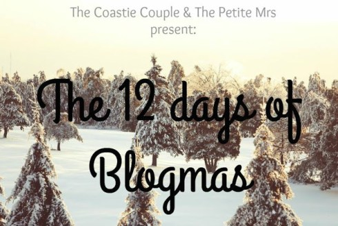 The 12 Days of Blogmas is a link-up hosted by The Coastie Couple and The Petite Mrs. Check out either of their blogs to see what everyone else has to say on today's topic!