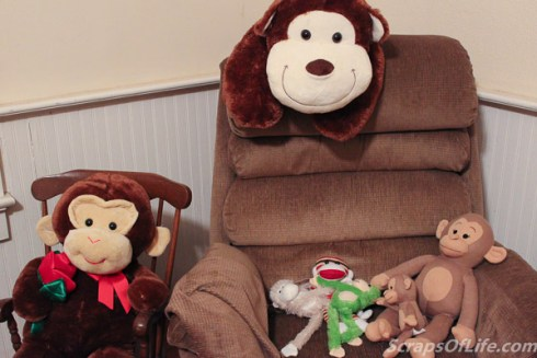 Just because these monkeys converged on the armchair doesn't mean they won't make room for you, too!