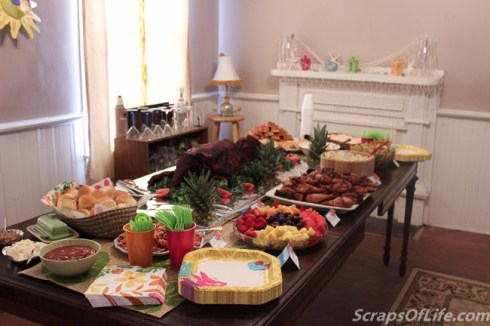 Another view of the buffet, just because.