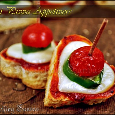Pizza Appetizers in 30 mins