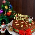Old Fashioned Rich & Moist Christmas Fruitcake