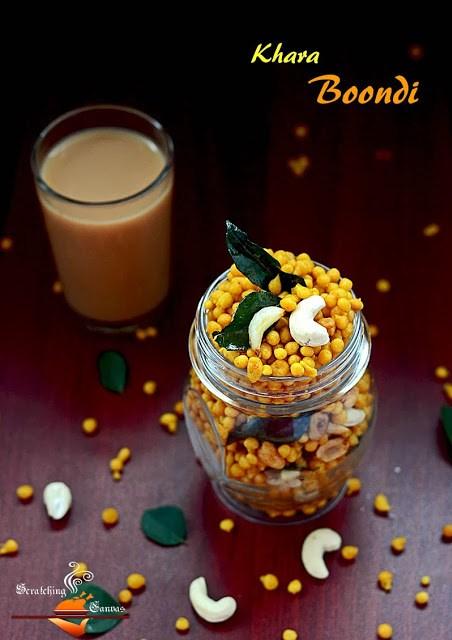 Spicy Khara Boondi