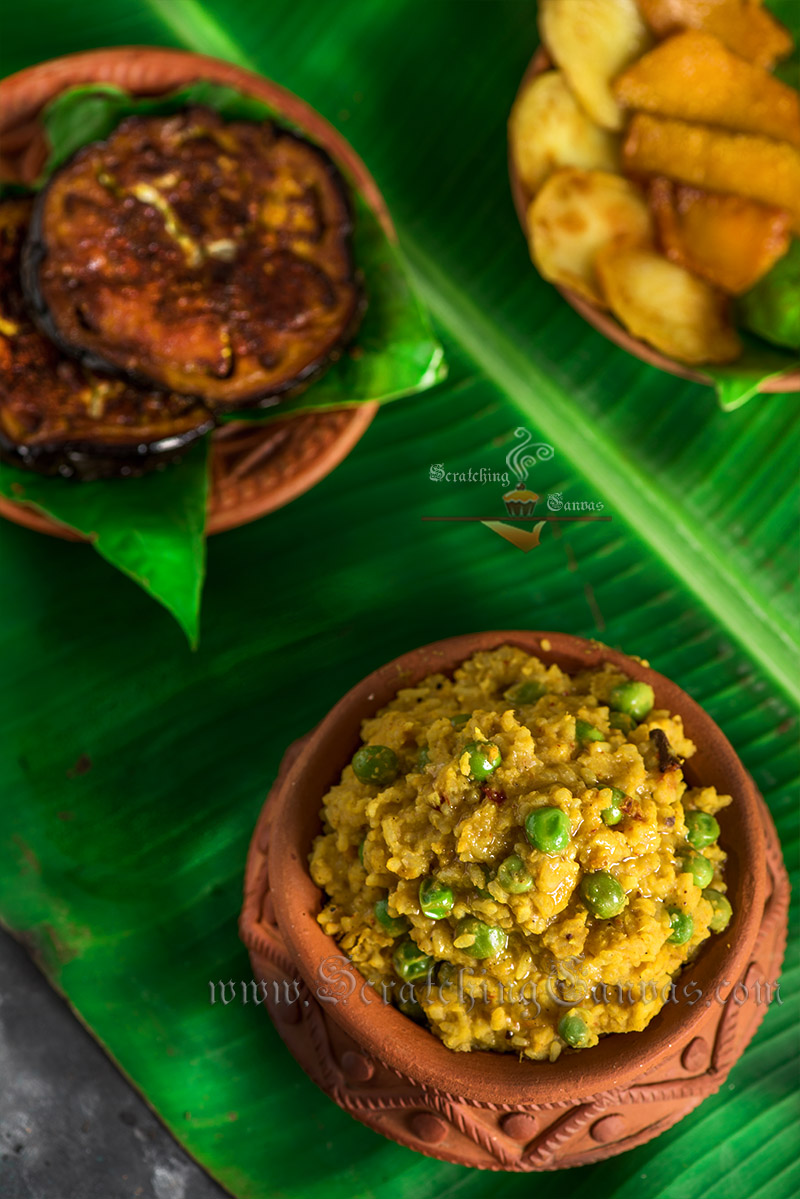 Bhoger Khichuri Food Photography Styling