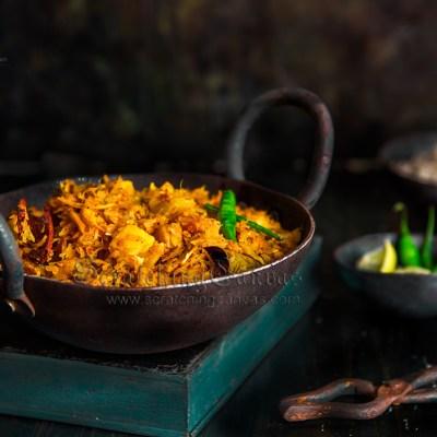 Pepe Ghonto   Peper Torkari Narkel Diye   Grated Papaya Curry   No Onion No Garlic