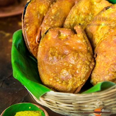 BEGUNI | BENGALI Telebhaja | Eggplant Fritter | Batter Fried Brinjal