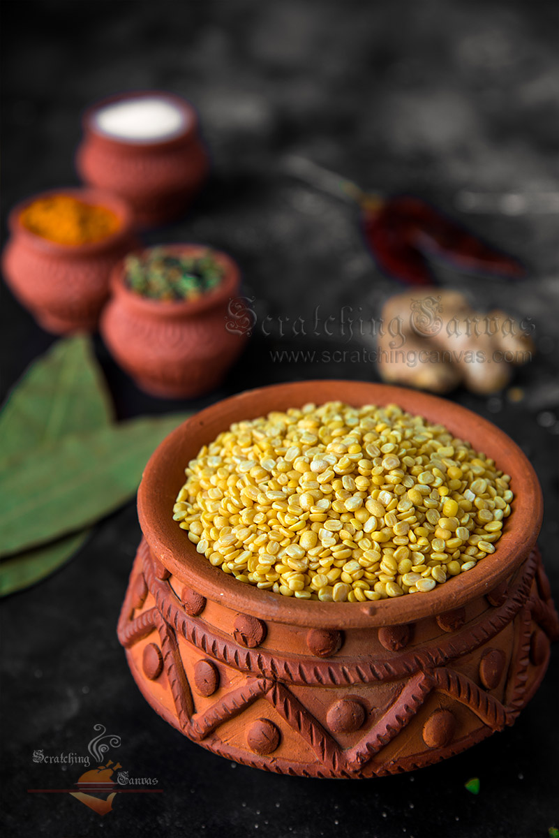 Moong Dal Food Photography Styling