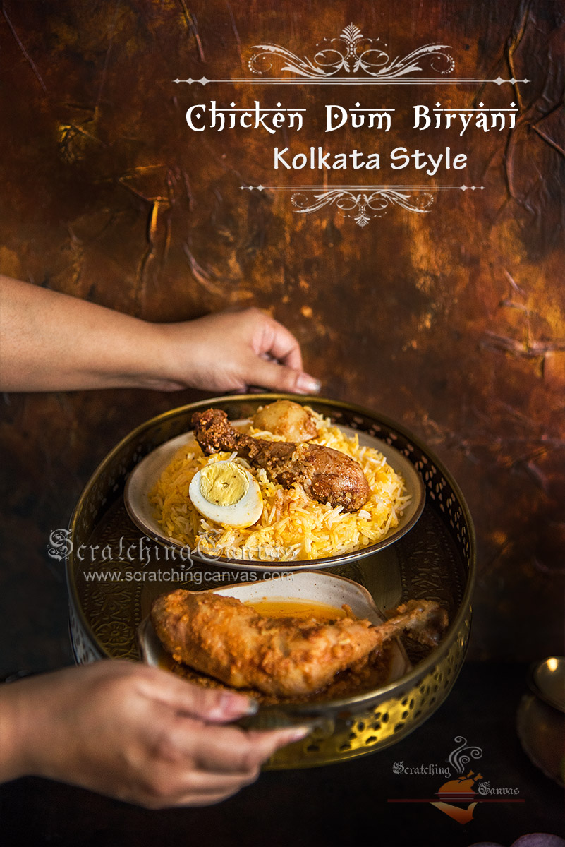Chicken Biryani Chicken Chaap Food Photography Styling