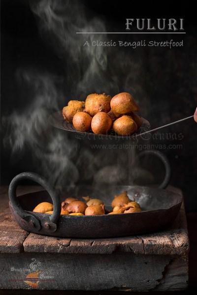 Fuluri Classic Bengali Telebhaja | Phuluri Kolkata Street food | ফুলুরি চপ রেসিপি