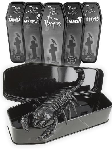 my first sex toy give away is for the Death by Scorpion Bullet & stimulating sleeve