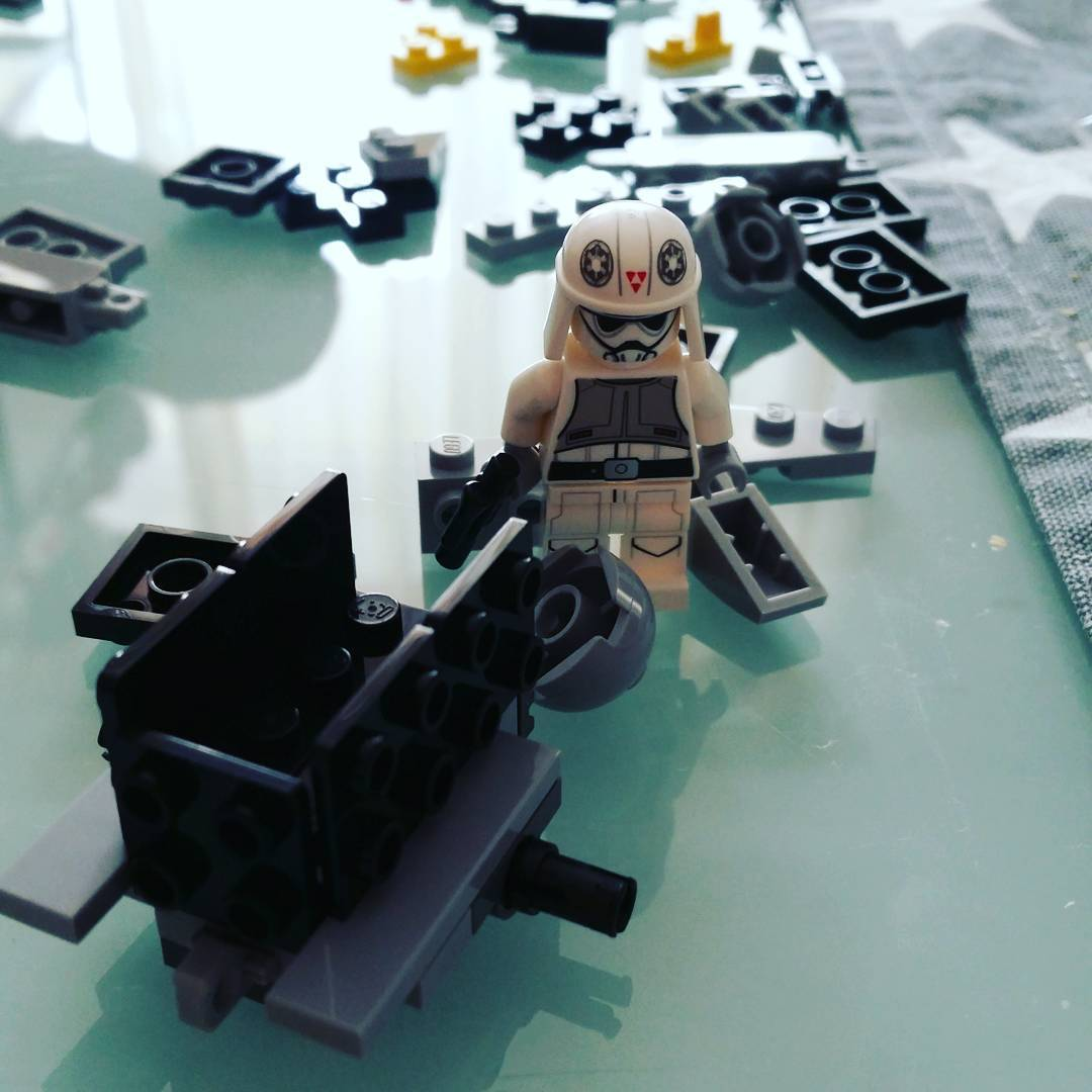 #Lego #starwars #microfighters #legostagram AT-DP