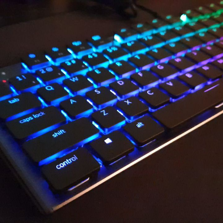New #keyboard in the house! Lovely #keychron k1??? #kickstarter