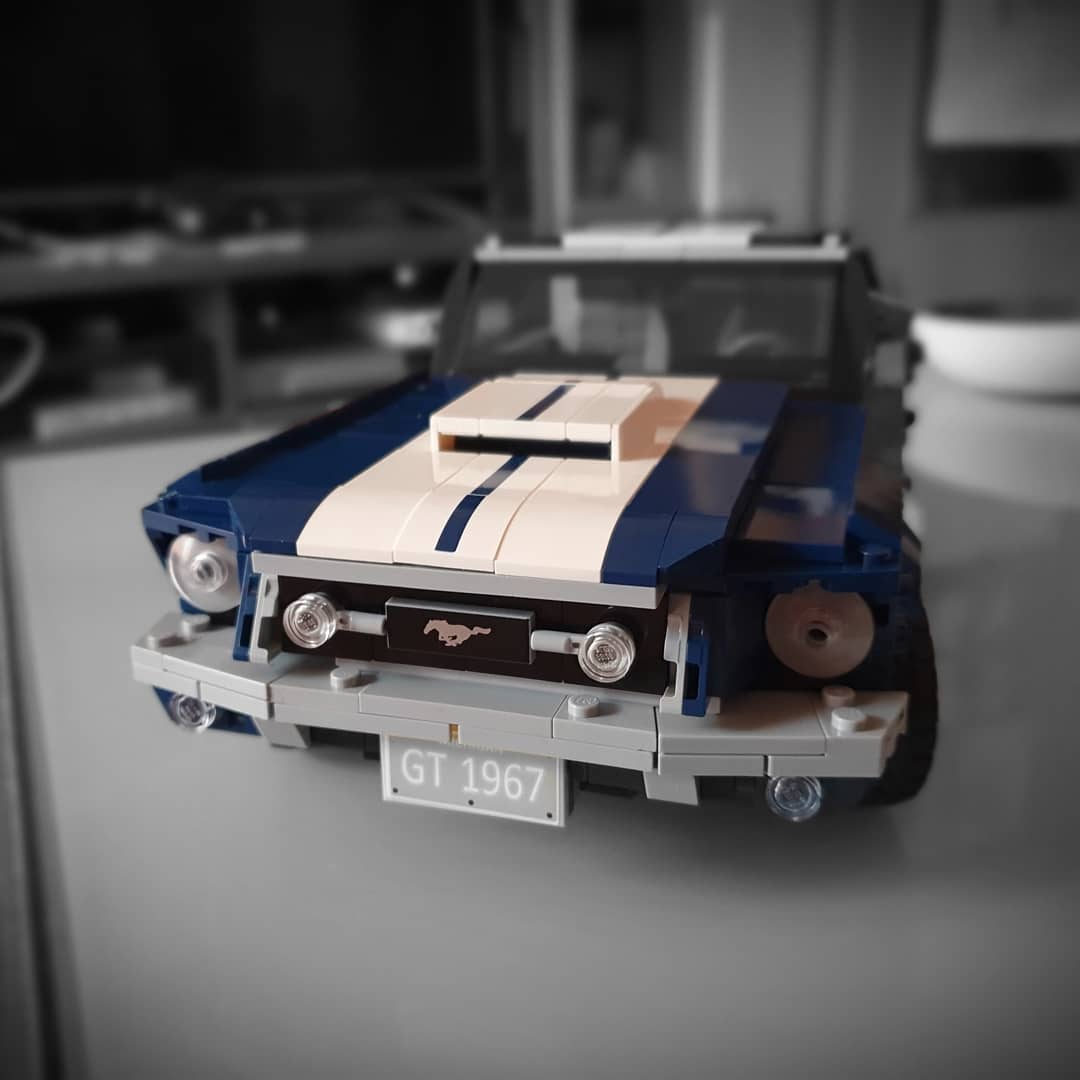 Finale Stage #lego #mustang #legocreator #legomustang