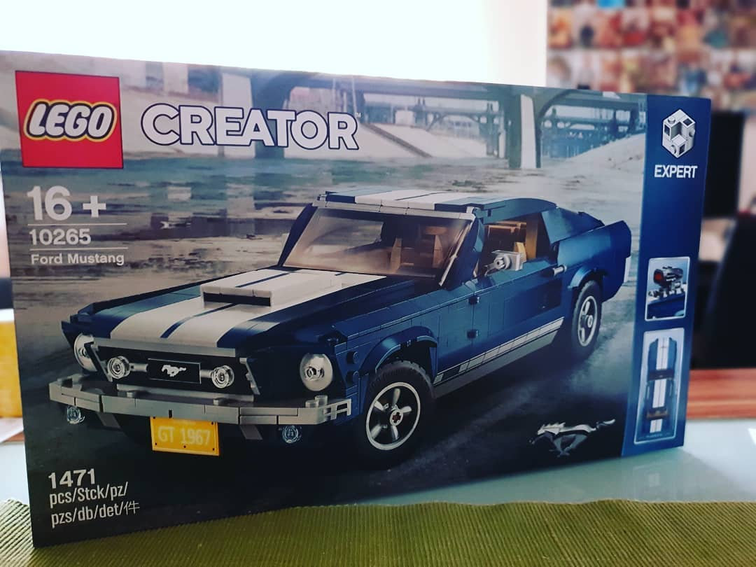 Next #lego Set in the House #legocreator expert #mustang #legofordmustang
