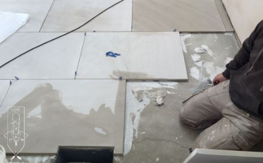 Tiling onto Cracked Screed     Addressing Underlying Causes of Tile     As