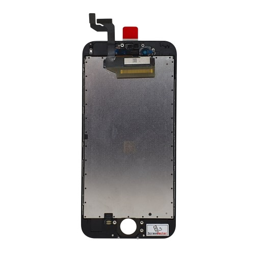 Rear facing iPhone 6S display in black