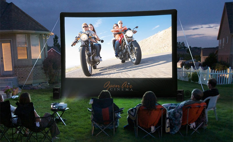 How To Make A Backyard Movie Theater for Summer Movie Night