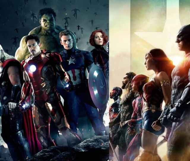 Marvel Dc Crossover Movie Avengers Justice League