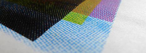 4-color Process Screen Printing - halftones